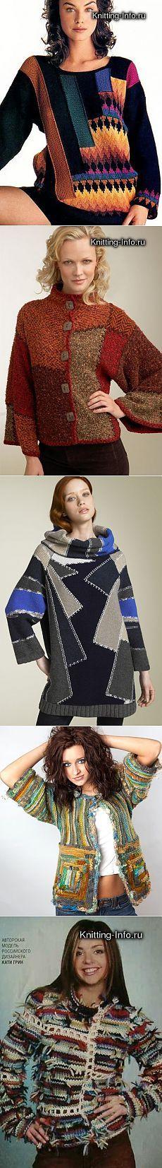 Los modelos en el estilo de & quot; & quot; patchwork