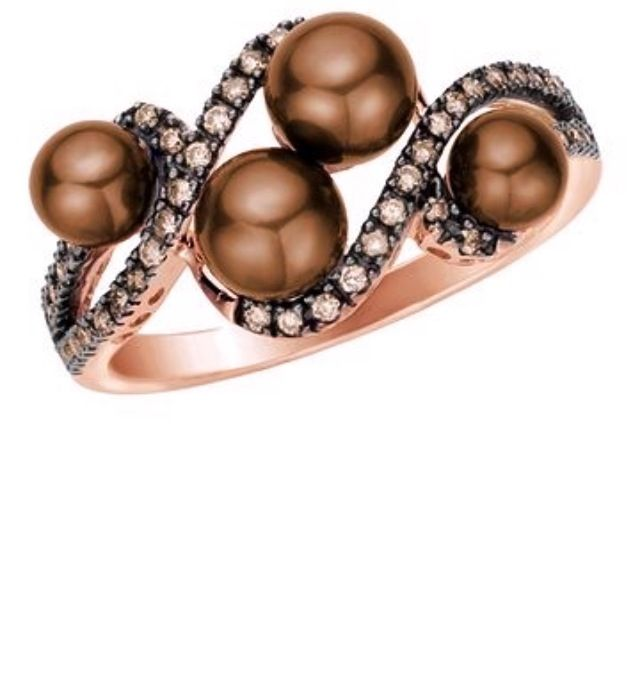Chocolate diamonds & chocolate pearls