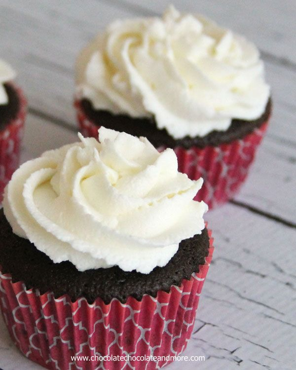 """""""White Buttercream Frosting, almost perfectly white with the perfect buttery buttercream taste!""""  I might need to do a taste test ... :)"""