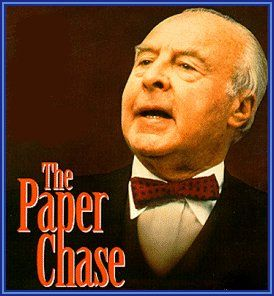 OK, he's not in the courtroom, but you can't expect an attorney Pinterest Board to not include Professor Kingsfield played by John Houseman.   Brilliant!
