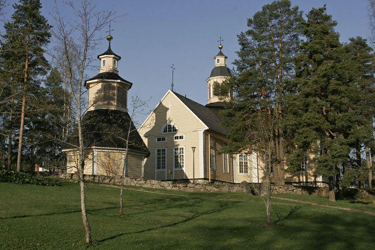 Nastolan kirkko -  the church of Nastola (where I was christened)