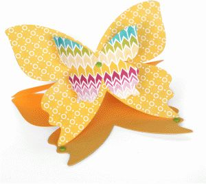 a2 lori whitlock butterfly easel card