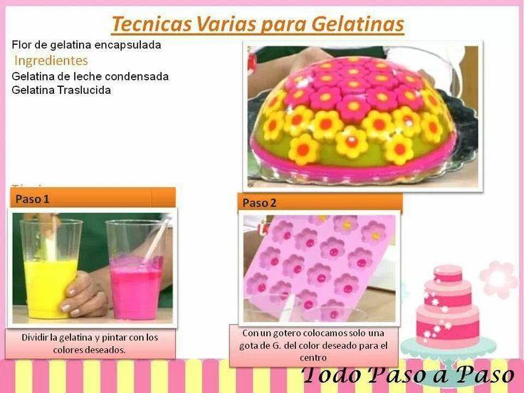 bizcochos de gelatina paso a paso