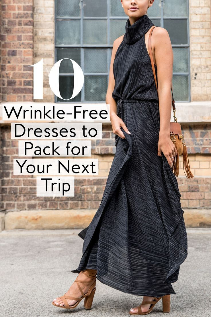Wrinkle Free Dresses To Pack In Your Suitcase Travel Dress Free Dresses Dresses