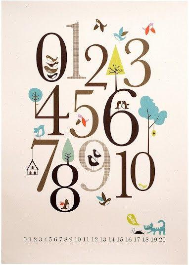 Isak Aime créer pour les enfants... Regardez son affiche 123 Nombres !Un graphisme Rétro et Joyeux pour ses Chiffres mprimé Naturellement avec des encres végétales sur du Papier carton recyclé.Pour Décorer Gaiement une chambre d'enfant et en plus c'est Educatif !Isak ? On est Fan !