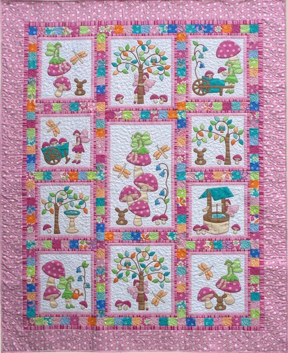 Use this style for the back of the princess quilt