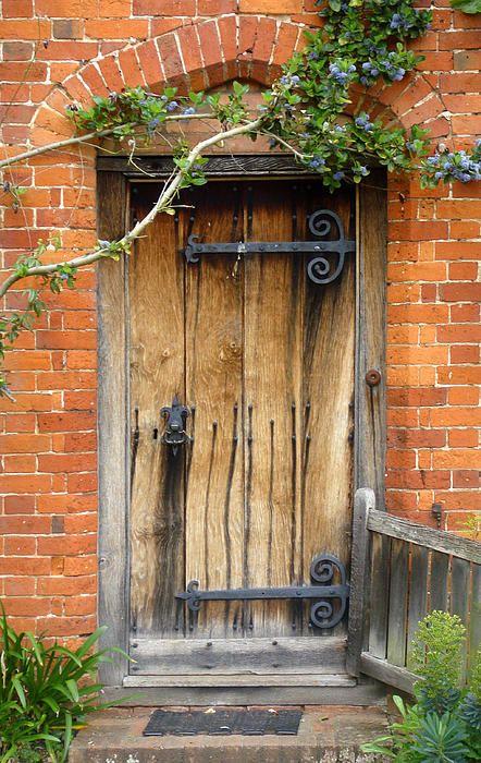 Packwood house door,England