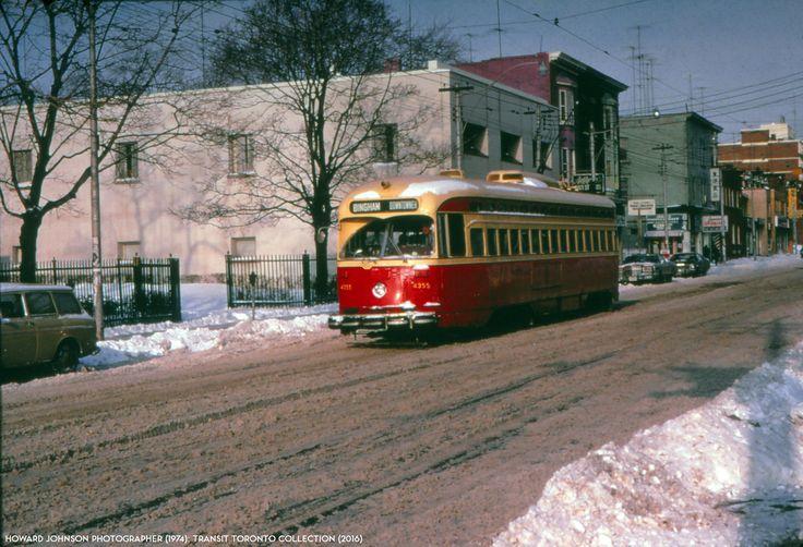 502/503 Kingston Road 1974 TTC TORONTO PCC