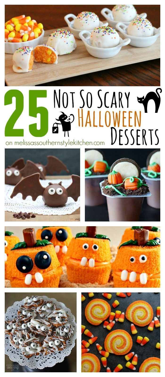 25 not so scary halloween desserts - Scary Halloween Dessert