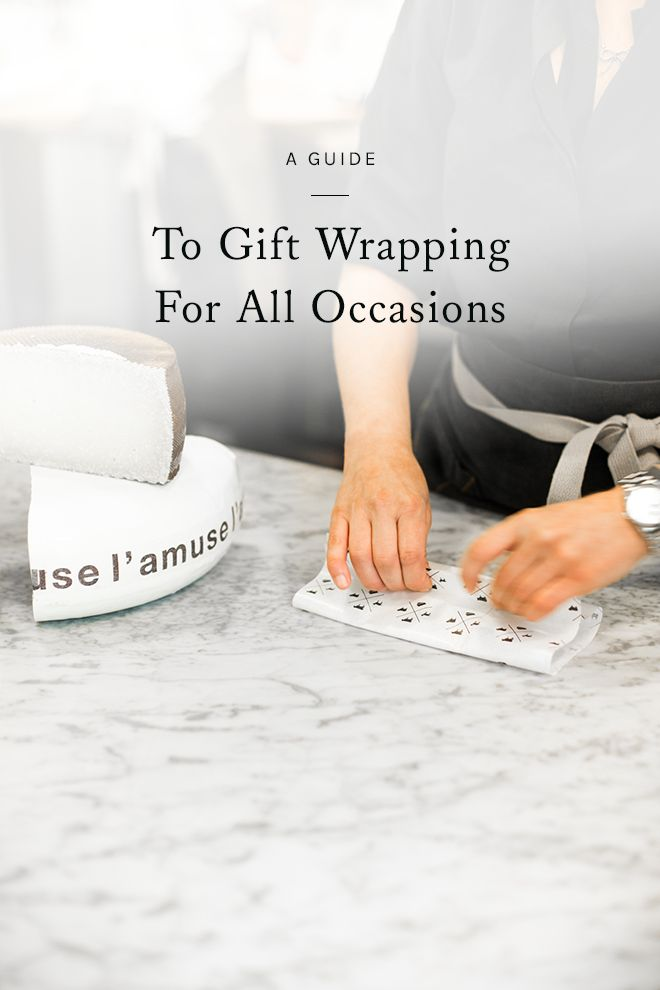 a little attention to detail can go a long way when it comes to gift wrapping. click through for a guide to simple gift wrapping for all occasions.