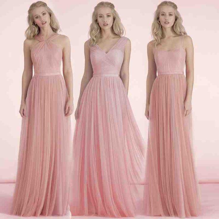 Mejores 22 imágenes de blush bridesmaid dresses en Pinterest | Damas ...