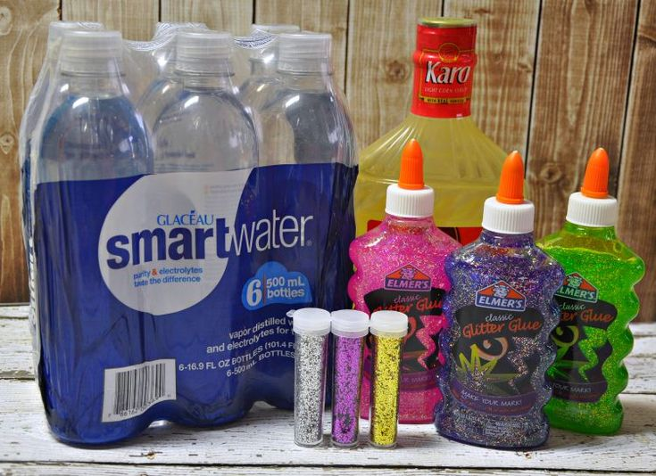 Looking for something fun to do with your used plastic water bottles? Grab some sparkly glitter glue and make your own DIY meditation or time out bottle.