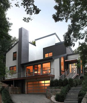 Contemporary Renovation Exterior Design Ideas, Pictures, Remodel and Decor
