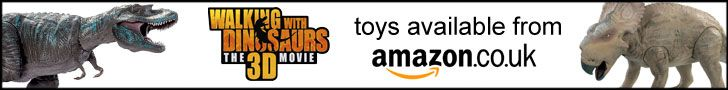 New Walking With Dinosaurs 3D toys available from Amazon.co.uk