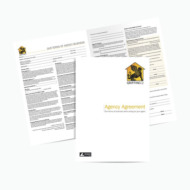 Best Ncr Estate Agents Agreement Templates Images On