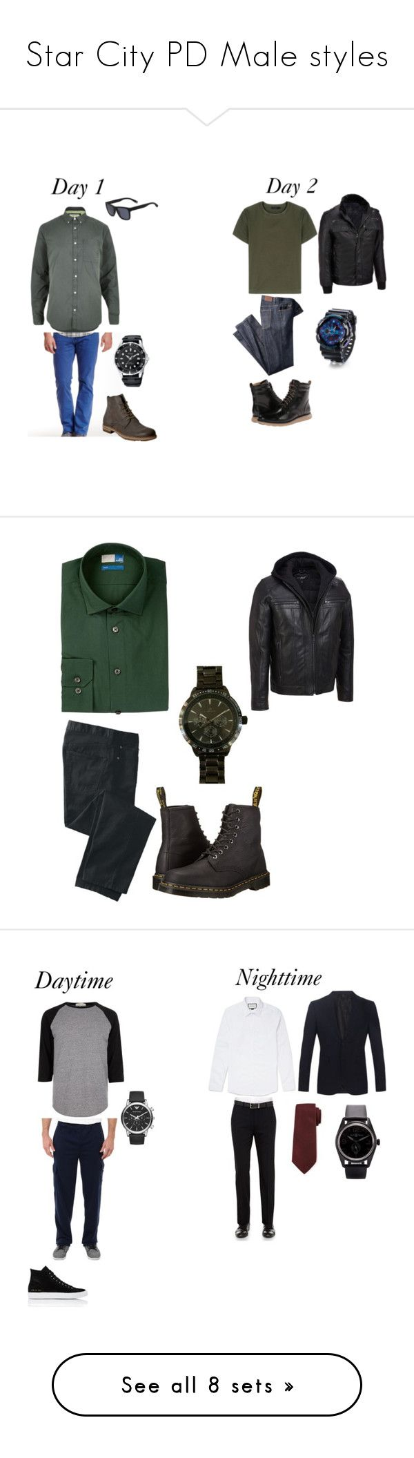 """""""Star City PD Male styles"""" by sara-scott-i on Polyvore featuring River Island, Mavi, A.S. 98, Lacoste, Calvin Klein Collection, Wilsons Leather, Cole Haan, men's fashion, menswear and 14th & Union"""
