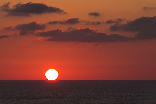 Pointe de la Parata #sunset #scene #corsica