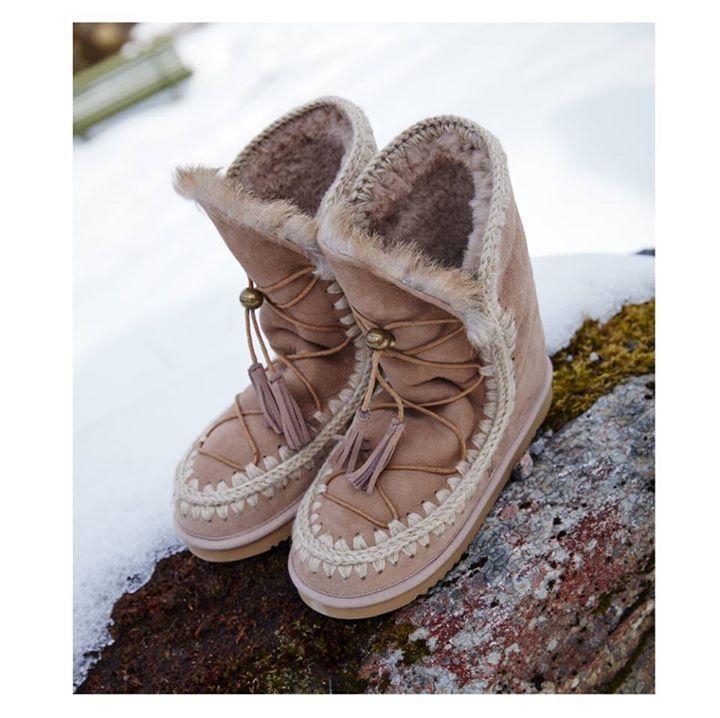 Winter LOVE: Eskimo MOU booties  http://bit.ly/Labrini_Mou #mouboots #labriniathens
