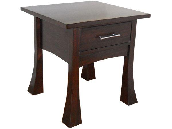 Bonza 1 Drawer End Table