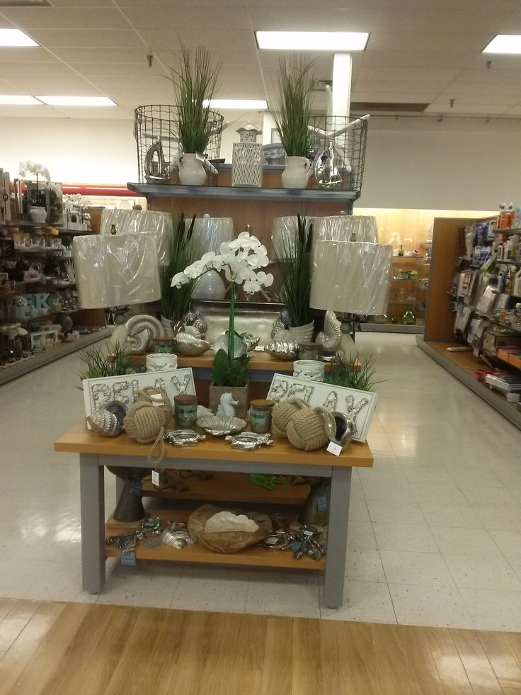 Merchandising Display Natural Beach Tj Maxx Endcap Topeka