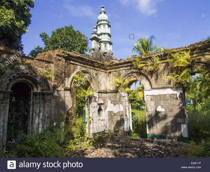 Sittwe, Rakhine, Myanmar. 9th Nov, 2014. An Abandoned Mosque In A Stock Photo, Royalty Free Image: 75296187 - Alamy