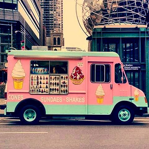 Ice cream vans need to look a lot more creative in style, in my country anyway