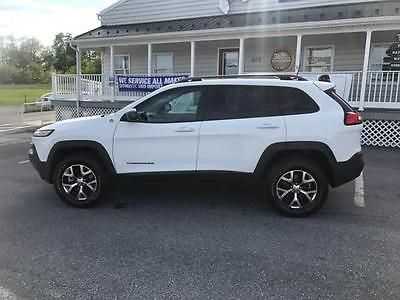 SUVs: 2016 Jeep Cherokee Trailhawk 4X4 4Dr Suv 2016 Jeep Cherokee Trailhawk 4X4 4Dr Suv Automatic 9-Speed 4X4 V6 3.2L Gasoline -> BUY IT NOW ONLY: $25495 on eBay!