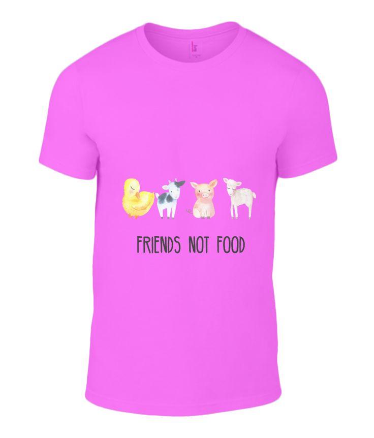 Friends Not Food Basic T-Shirt