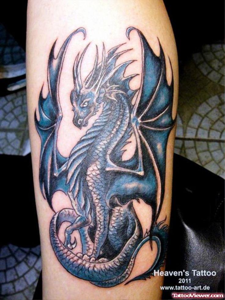 Western Dragon Tattoo
