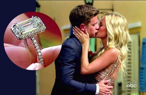 Bachelorette Emily Maynard Accepts 3.5-Carat Emerald Cut ...