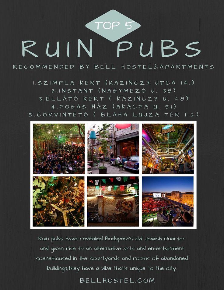 #ruin pubs budapest #top 5 ruin pubs #budapest hostel