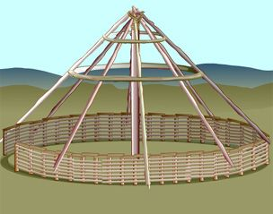 BBC - History - Ancient History in depth: Reconstructing an Iron Age Roundhouse