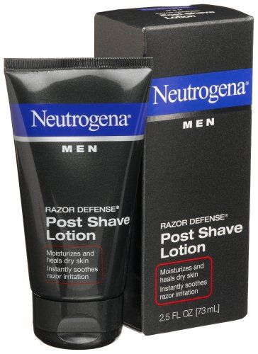 Neutrogena Men Razor Defense Post Shave Lotion, 2.5 Ounce (Pack of 4) Neutrogena  Neutrogena Razor Defense Another great way to prevent razor burn and ingrowns is to use an after shave. You think it's only for guys, but you can use after shave too!