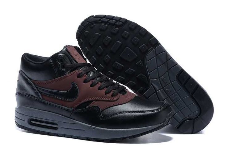 https://www.sportskorbilligt.se/  1767 : Nike Air Max 1 Billigt Dam Svart Brun SE446069zynybatyS