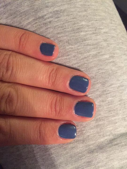 Miami gel imimonima verniki 17 color blue gray color www.e-nails.gr