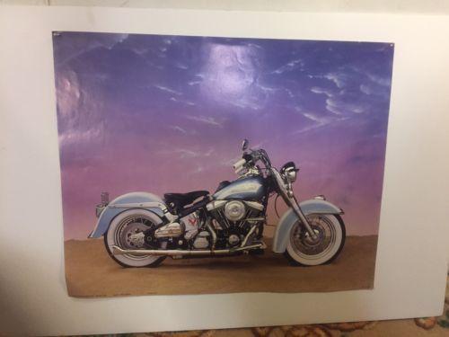 """Prints 4 Harley Davidson Posters 20""""X16"""" Unframed.C6 pix4size&detail. MAKE OFFER"""