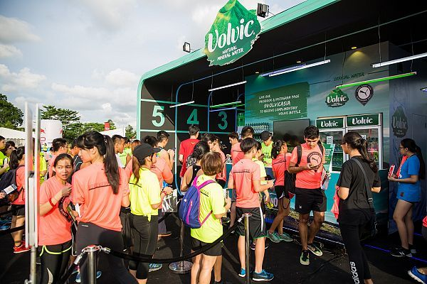 Volvic Brand Activation Campaign Project Volvican Event Sponsorship Activities Event Management