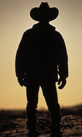 128 best ride 39 em cowboy images on pinterest for Cowboy silhouette tattoo