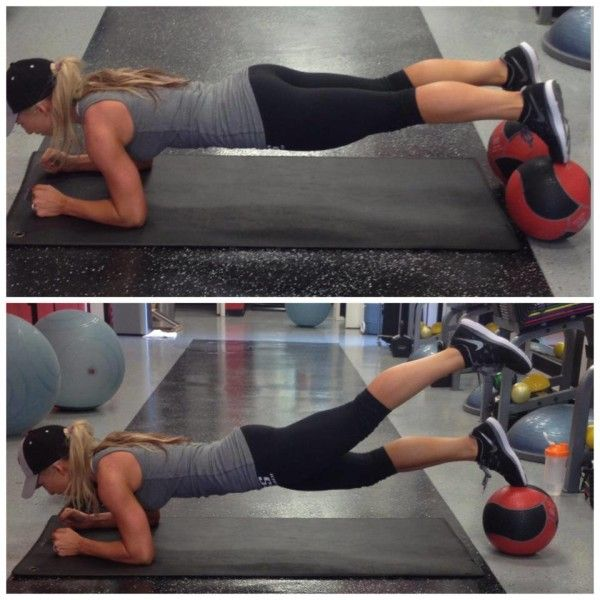 Plank Exercise for Abs, Legs and Arms! - Amanda Adams