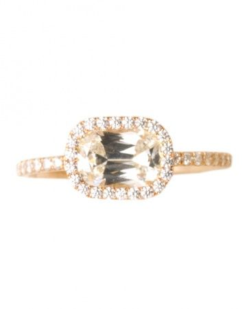 Cathy Waterman Engagement Rings   Wedding Jewelry 101   Martha Stewart Weddings