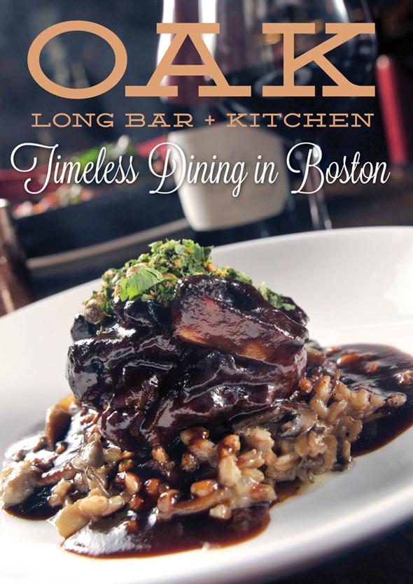 Oak Long Bar And Kitchen