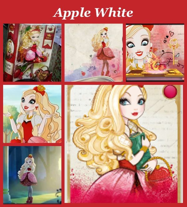 Apple White daughter of Snow White. A royal at Ever After ...