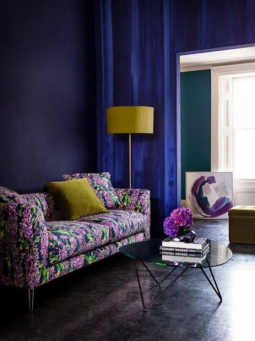 Selina Lake: Wisteria Cushions from Sofa.com. .... Love this.
