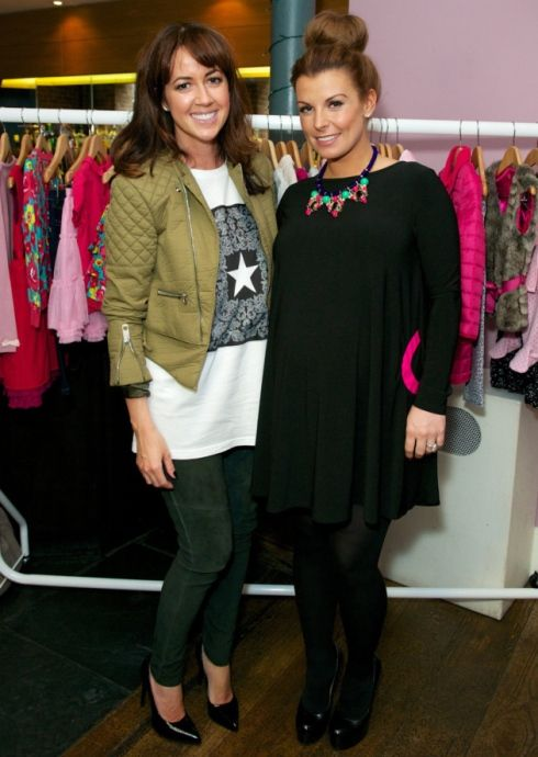 Coleen Rooney launches children's and nursery clothing collection at celeb tea party