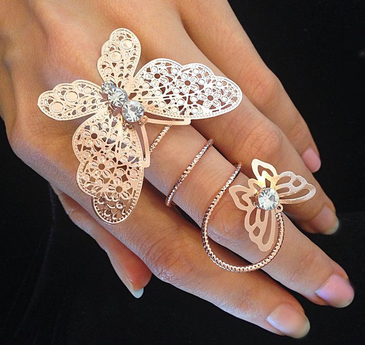 Butterfly Statement Ring <span class='money'>$5</span>