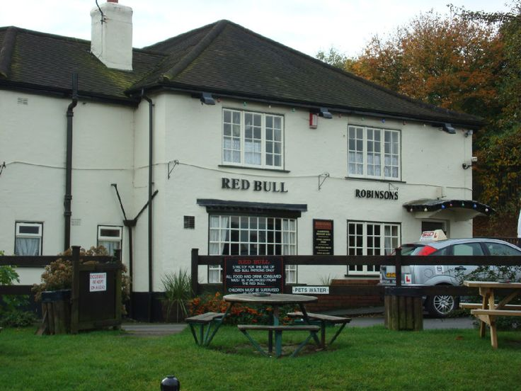 Red Bull Pub. Kidsgrove, Stoke on Trent, England.