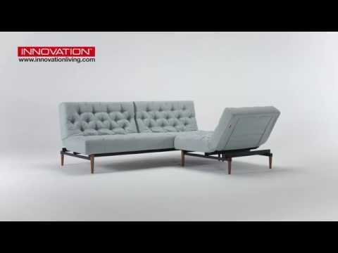 Innovation Living Oldschool Sofa Bed With Chair
