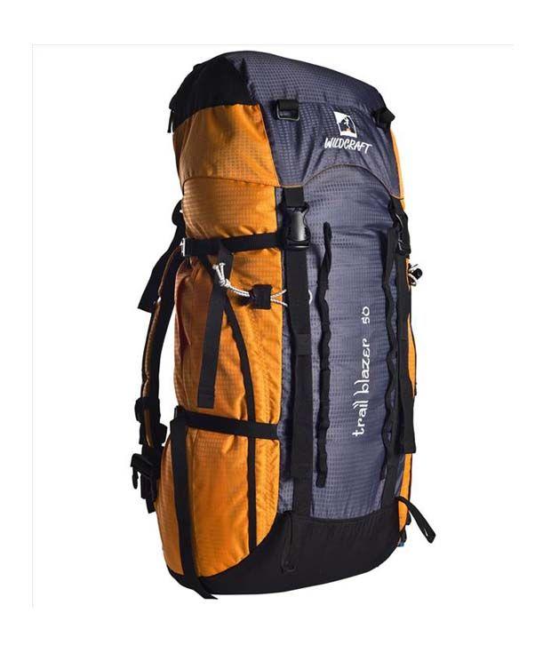 Wildcraft Trailblazer Orange & Black Backpack