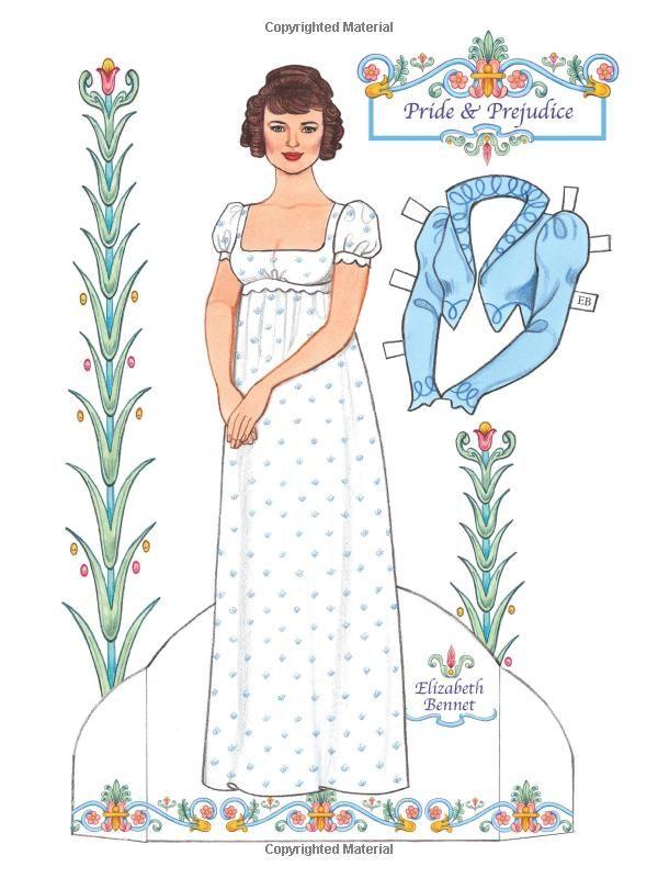 Jane Austen Paper Dolls: Four Classic Characters: Eileen Rudisill Miller: 9780486492223: Amazon.com: Books