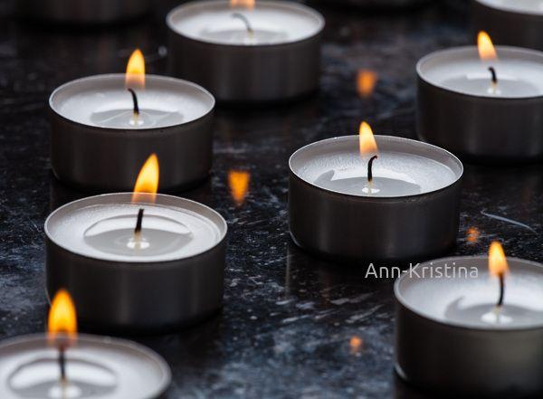 Ann-Kristina Al-Zalimi, kynttilä, tuikku, christmas, ljus, värmeljus, joulu, tealight